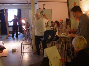Tuesday Life Drawing Class