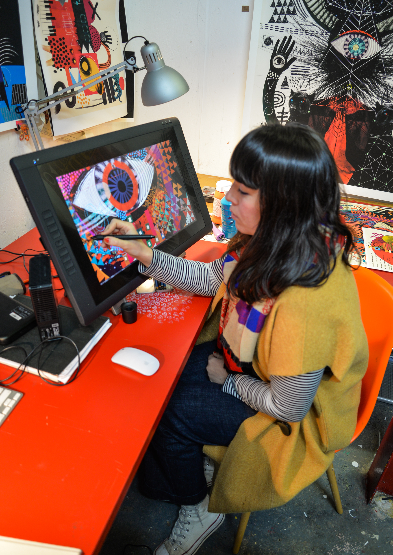 Victoria Topping digital artist